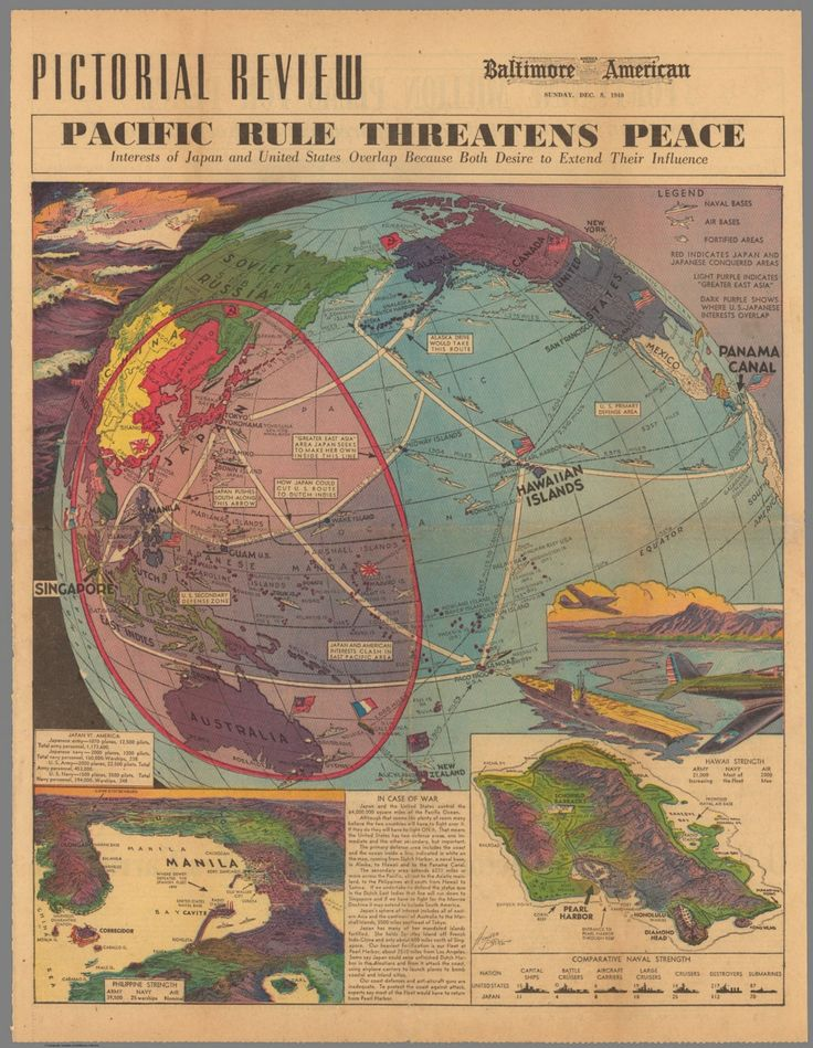 Pacific Rule Threatens Peace (1940)