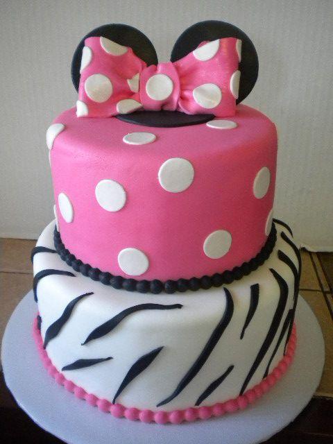 Zebra Birthday Cakes on Pinterest  Birthday Cakes, Purple Birthday ...