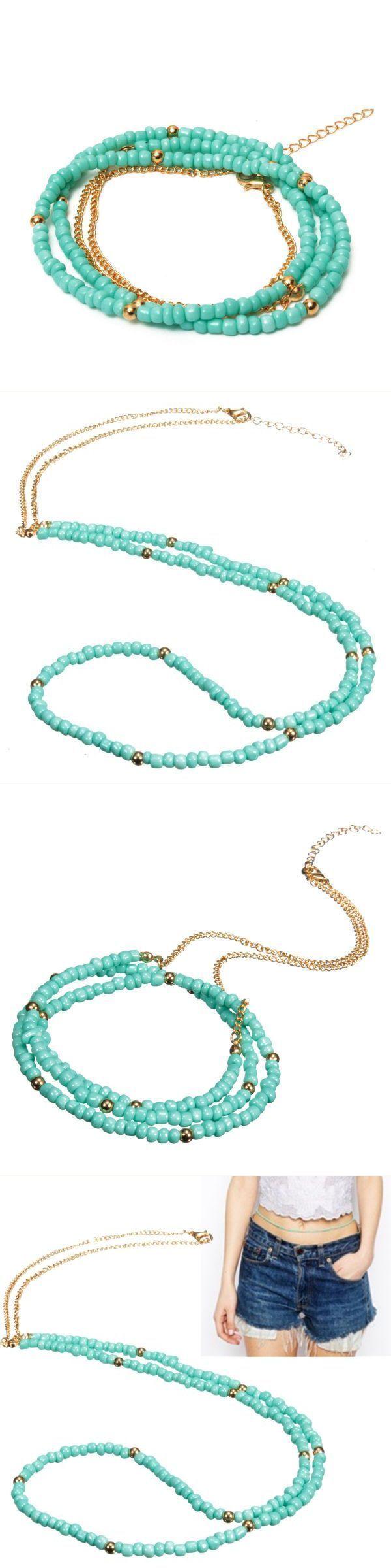 Women sexy bikini green bead belly waist chain body necklace jewelry body jewelry for sale #body #jewelry #denver #body #jewelry #in #bulk #body #jewelry #plus #prices #body #jewelry #yorkdale