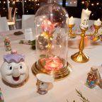 decoração casamento disney