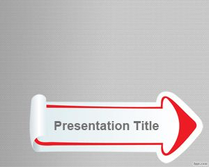 Sticker Arrow PowerPoint Template is a free simple arrow with sticker design that you can download this template for PowerPoint presentations