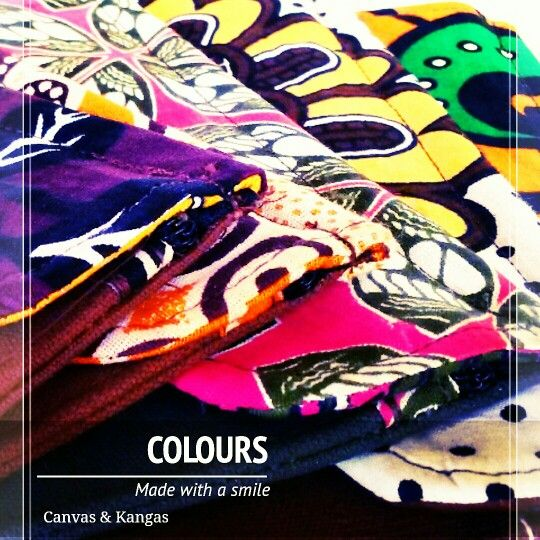 We love colours. We love to use them on our bags. Canvas & Kangas bags will make you smile. CanvasandKangas.com