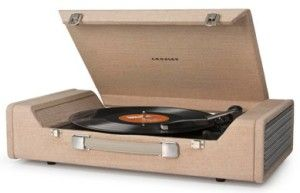 Crosley CR6232A-BR Nomad USB Portable Record Player