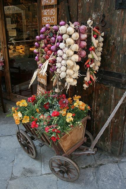Carretto di fiori #bellavallone #selfcatering
