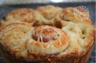 Ham And Cheese Ring Bread