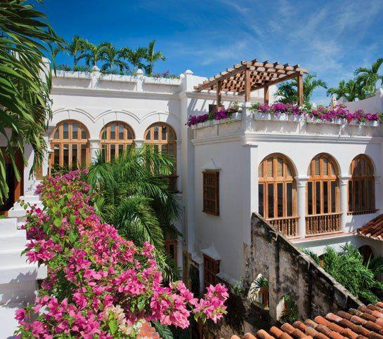 Casa San Agustín, a boutique hotel in Cartagena, Colombia.