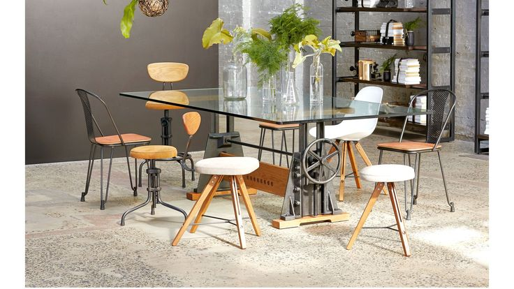 Le Loi Dining Table from Domayne Online | I like