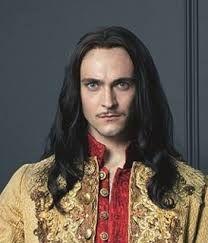 George Blagden -  Louis XIV - in TV series Versailles