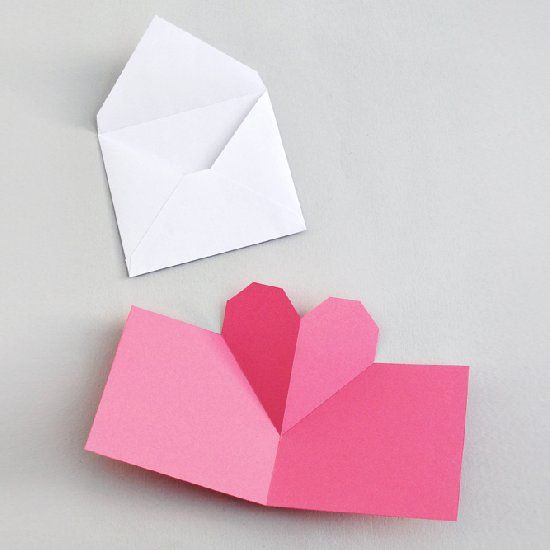 Simple popup heart card (+ templates)