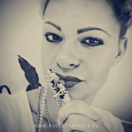 #PEACE #BULLETS4PEACE #ILOVEB4P #FANPHOTO #FANFOTO Thank you Caro M.   www.bullets4peace.eu www.bullets4peace.ch www.bullets4peace.at
