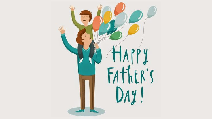 happy fathers day card hd wallpaper