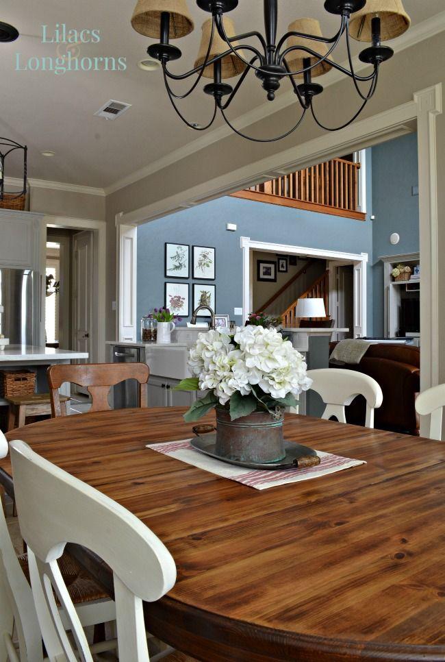 best 25 farmhouse table centerpieces ideas on pinterest farmhouse table decor dining table. Black Bedroom Furniture Sets. Home Design Ideas