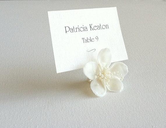 Handmade Cold Porcelain Cherry Blossom Place by MeliMariStudio, $150.00