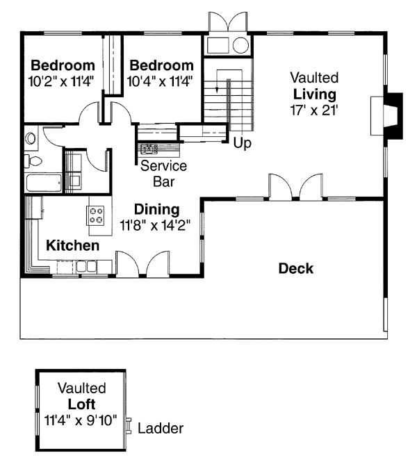 Contemporary House Plan Plans