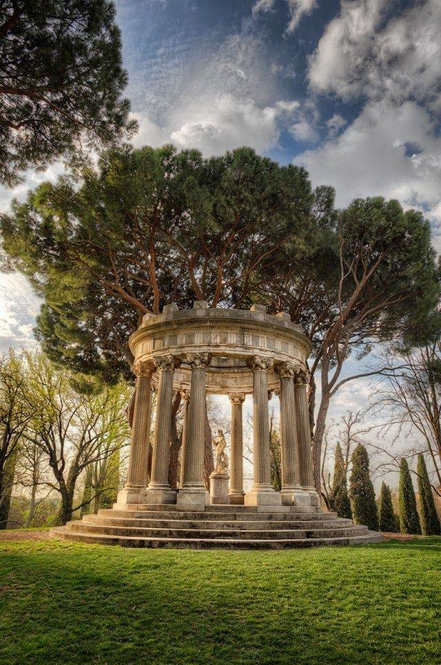 Garden - Jardin El Capricho, Madrid, Spain
