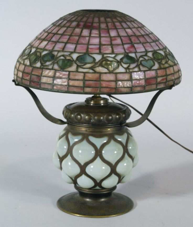 Tiffany Studios Lamp sold $25,300 www.fairfieldauction.com