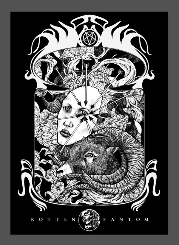Rotten Fantom t-shirt vol.I by Waldez Snegotskiy, via Behance