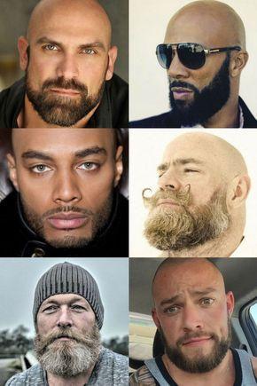 Bald With A Beard - Beard Styles For Bald Men