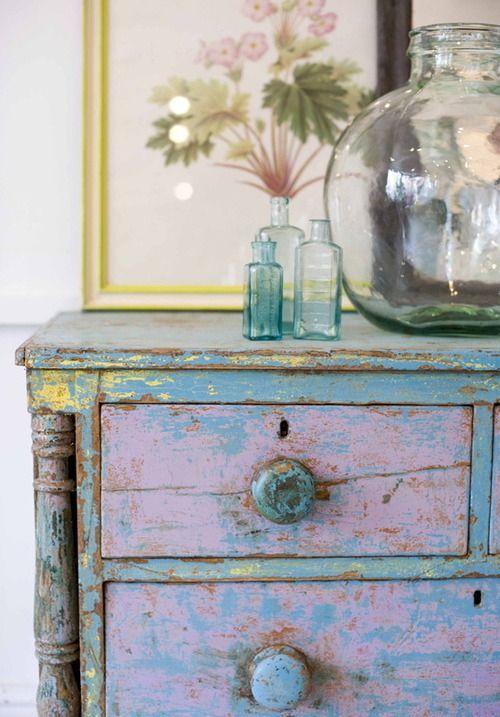Via Phoenix On Golborne Love The Colors Painted Furniture