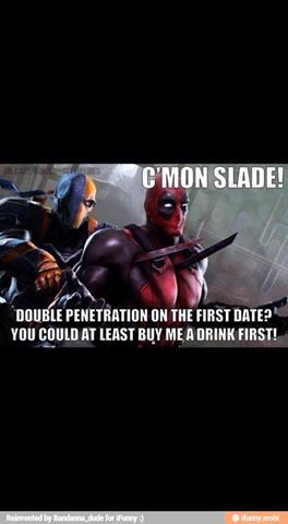 Deathstroke vs Deadpool