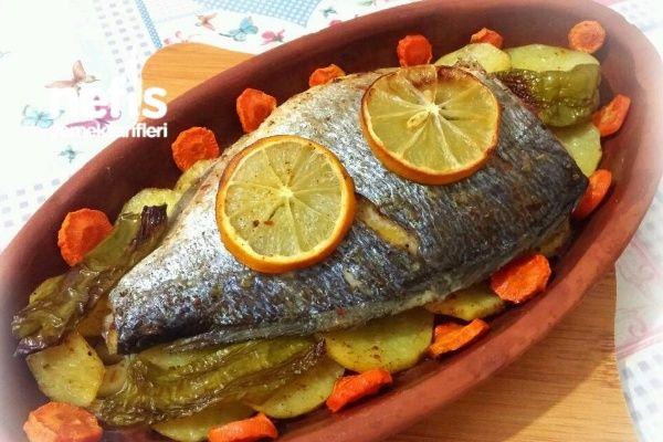 Fırında Özel Soslu Balık (Patatesli)