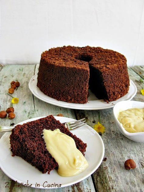 Chiffon Cake alle Nocciole con Crema al Passito di Pantelleria, la Fluffosa delle Bloggalline | 2 Amiche in Cucina
