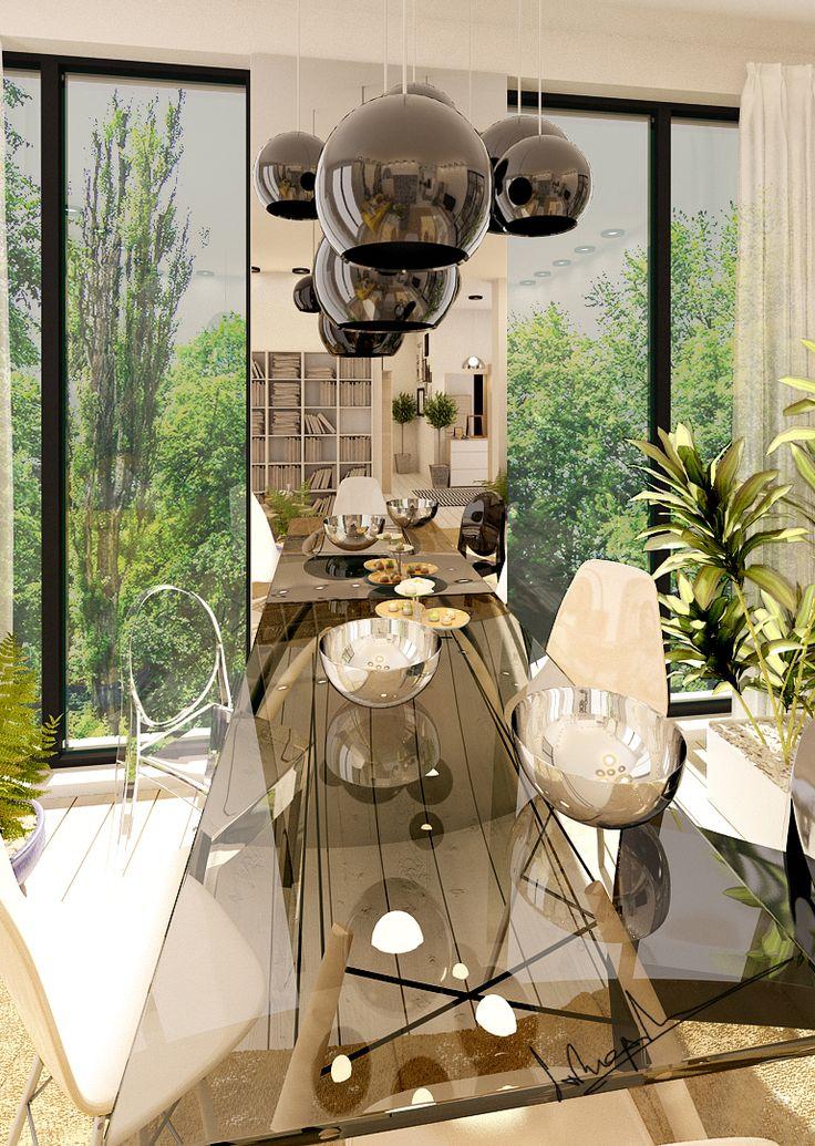 """""""NRH"""" Interior Design Project  Credits: Concept: Arh. Irina Patasanu 3D Render: Arh. Irina Patasanu"""
