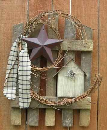 Primitive Old Window Decorating Ideas | Primitive Country Home Decor on Country Quackers Primitives Primitive ...