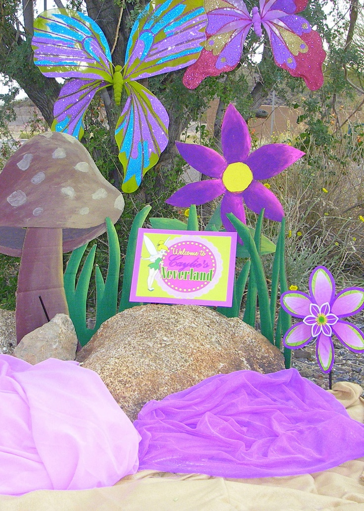 Great TINKERBELL WELCOME SIGN  Girls Party, Baby Shower, Bridal Shower, Summer Or  Spring