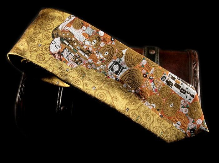 Silk ties Klimt : Fulfillment