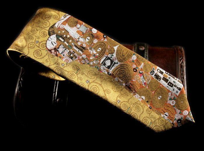 Silk ties Klimt : Fulfillment