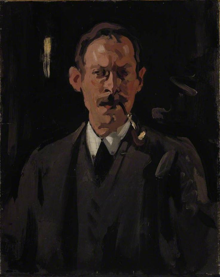 Samuel John Peploe (1871–1935), Artist, Self Portrait - Samuel John Peploe