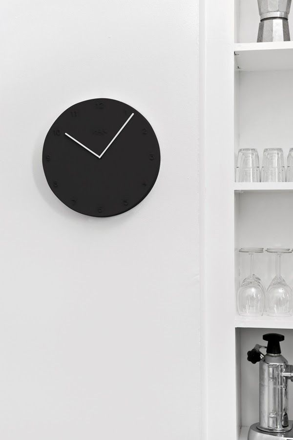 april and may kahler design at mikkili modern wall clockscool - Modern Designer Wall Clocks