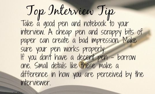 Surprising Interview Tips that Make a Difference.
