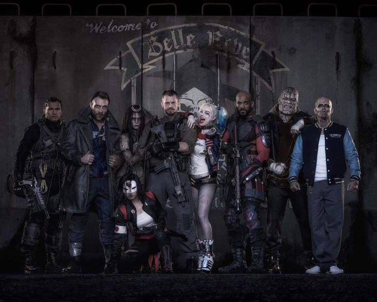 The Suicide Squad is here and ready for action!