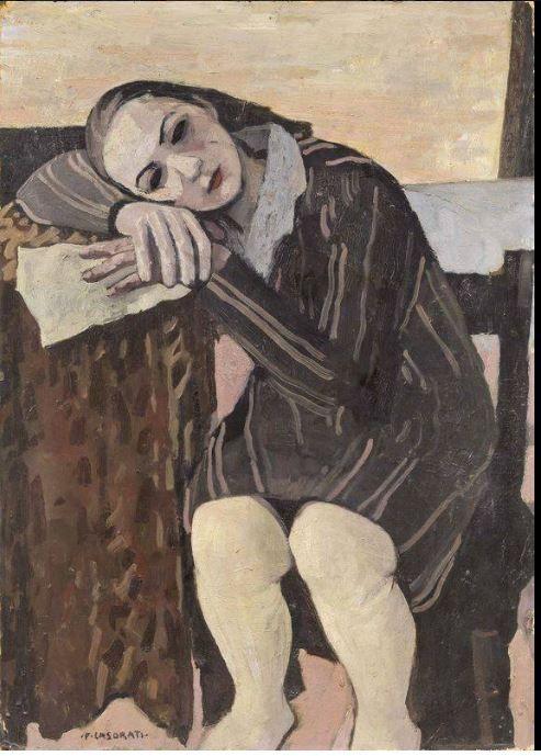untitled picture by Felice Casorati (1883-1963), Italian (salantami)