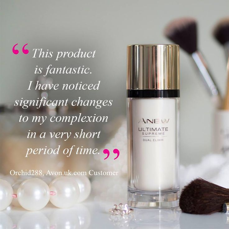 Achieve dramatic results on all signs of ageing! Read Loved By Laura's skincare diary for a full review on using our bestselling Ultimate Supreme Dual #Elixir: bit.ly/2v7w2C9  Shop and have your say here: www.avon.uk.com/store/limitlessbeautybewdley/