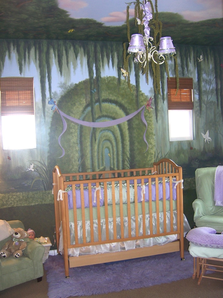 78 images about my murals on pinterest cas murals and for Fairy garden bedroom ideas