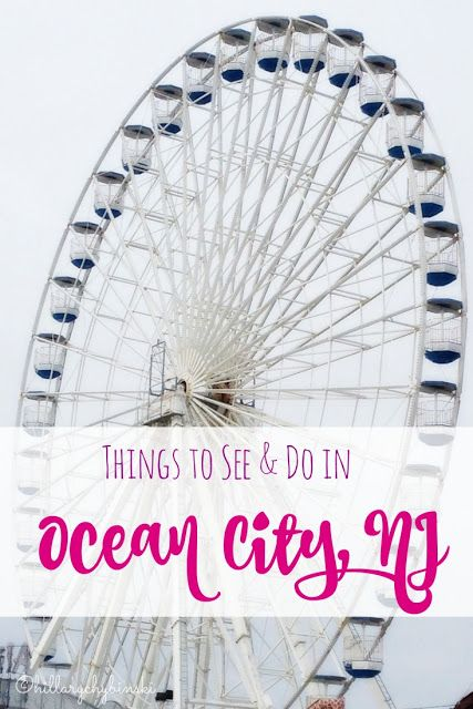 A helpful list of things to see and do in Ocean City, NJ. It's a great family destination with lots of great things to see and do for the entire family.