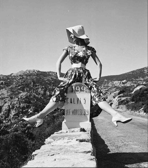 Fiona Campbell Walter, Corsica 1954 by George Dambier