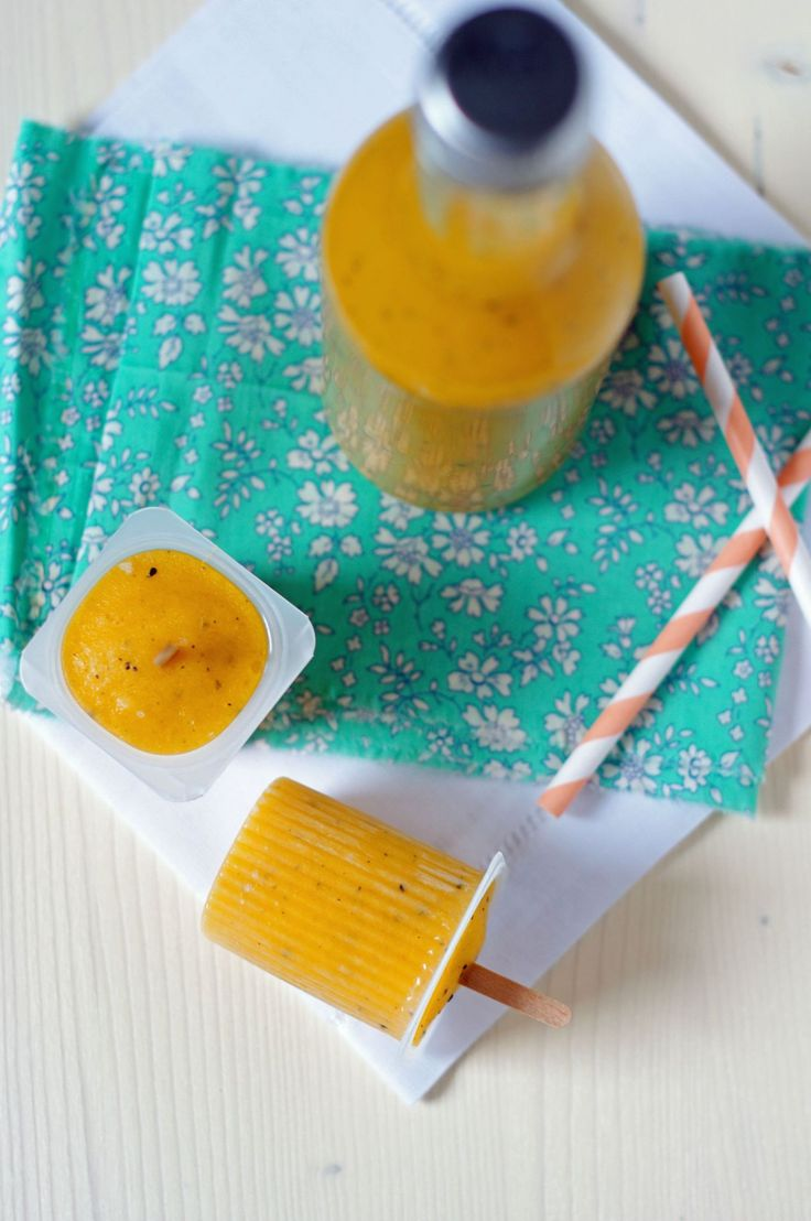 Smoothie Mangue + Popsicles
