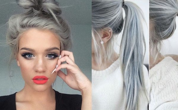 Instagram ovládol nový vlasový trend, keď si mladé ženy prefarbujú svoju hrivu sivou farbou, aby podporili svoje staré mamy.