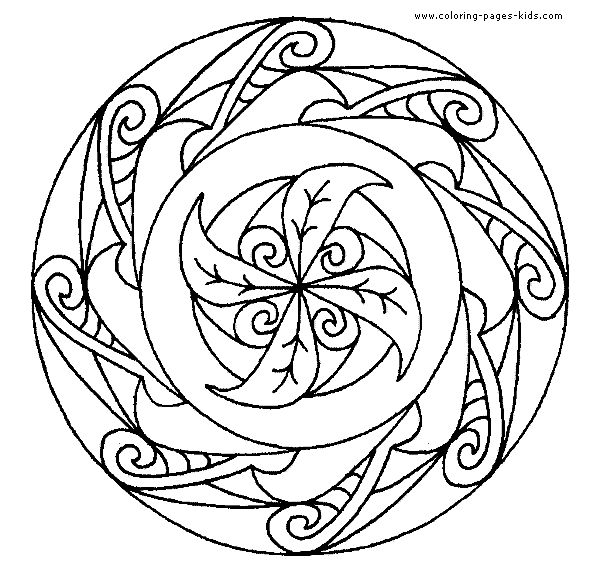 Printable Mandala Coloring Pages Pages Printable Coloring Pages