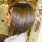 awesome Side View Graduated Bob Haircut Teenage Girls Hairstyle...