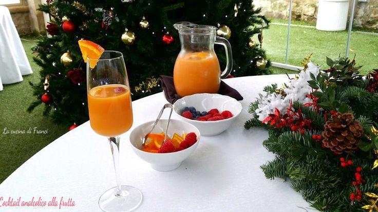 #aperitivo  analcolico per S.Silvestro preparato con frutta fresca !Vuoi un aperitivo con un po' di brio??Aggiungi un buon spumante rigorosamente ITALIANO .