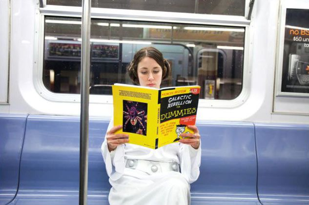 Star Wars For Dummies: Cities Subway, New York Cities, Nyc Subway, War Subway, Stars War, Subway Cars, Dummy Starwars, Galact Rebellion, Read Princesses