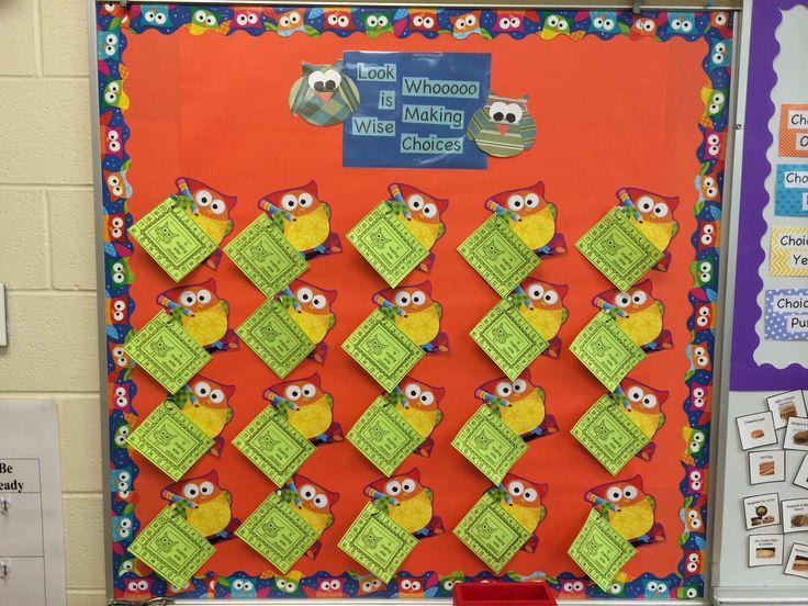 Classroom Incentive Ideas : Behavior incentive bulletin board hang and display a