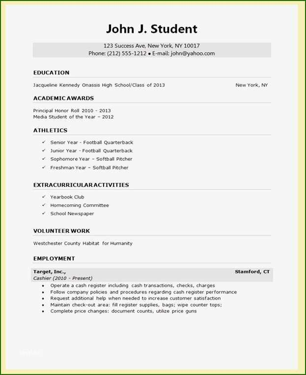 16 Skillful College Application Resume Template In 2020 College Resume College Resume Template High School Resume Template