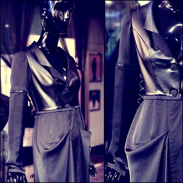"""We create a lot of designs, each with a different attitude and personality.   My favorite line from all the lines that we create is the """"formal chic"""" look❤    It's a mixture of sexy and classy, a mixture between formal yet casual, serious yet playful❤    Some clients call it the suit abaya which explains it all ❤❤"""