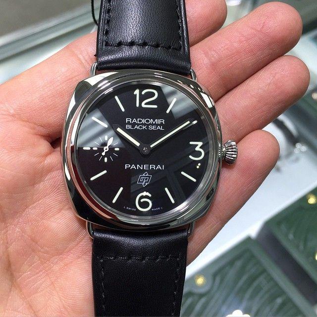 "17 Likes, 2 Comments - Da Vinci Watches (@davinciwatches) on Instagram: ""Men's 45 mm Panerai Radiomir Black Seal Base Logo PAM 380 PAM 00380 #panerai #radiomir #pam380…"""